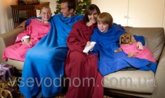 ТОП ТОВАР! Плед одеяло с рукавами 150х190 Зеленый