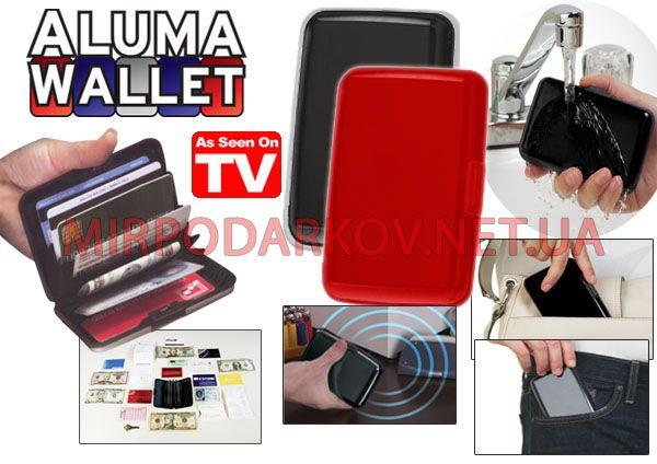 Кошелек - кредитница Aluma Wallet.
